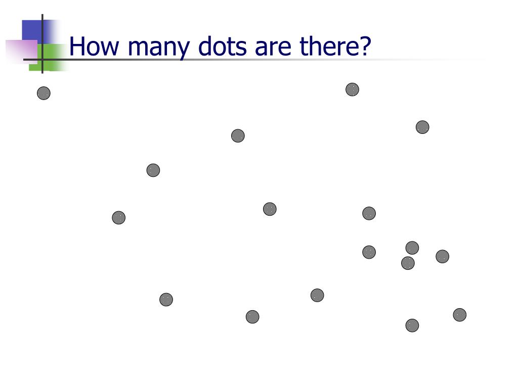 How many dots are there?