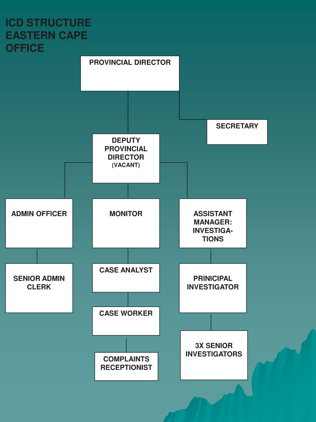 ICD STRUCTURE