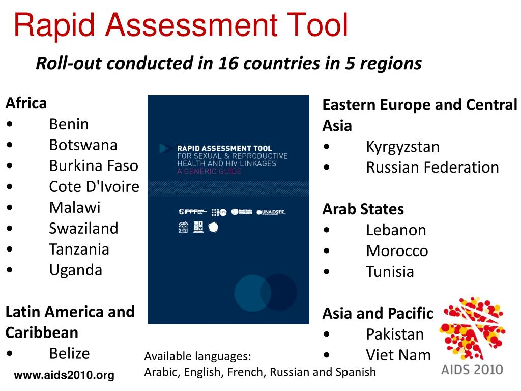 Roll-out conducted in 16 countries in 5 regions