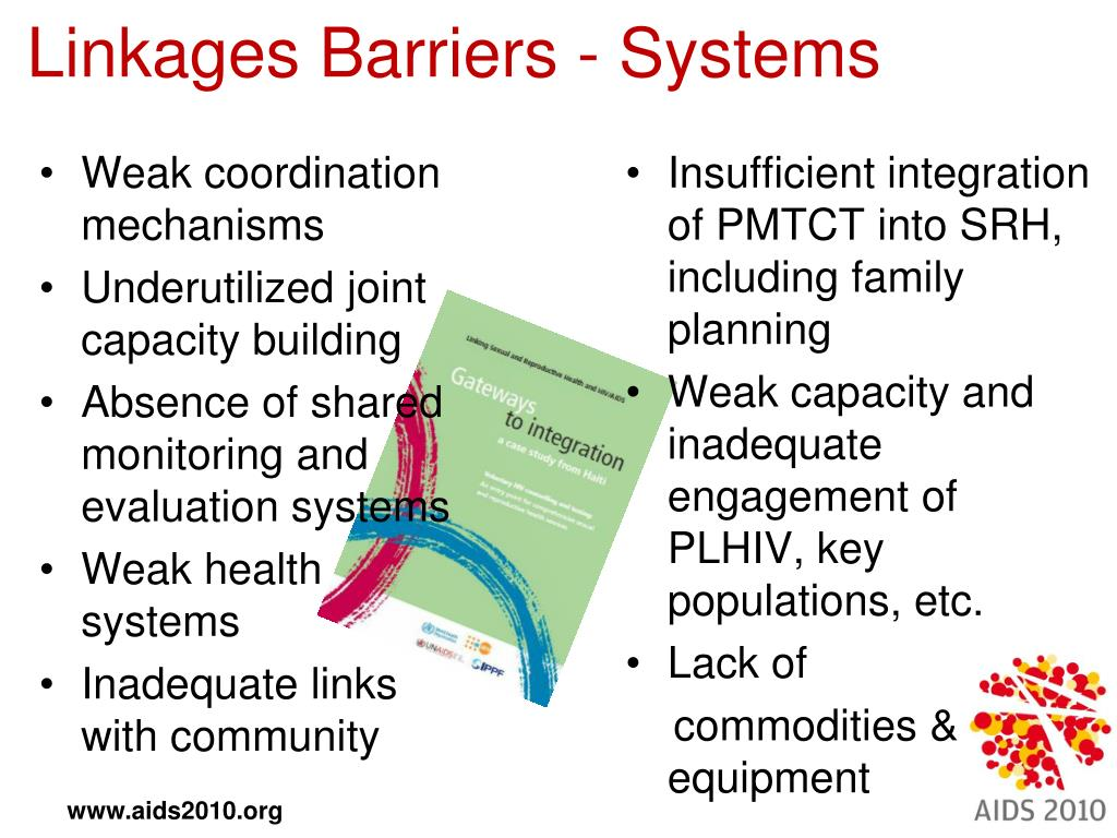 Linkages Barriers - Systems