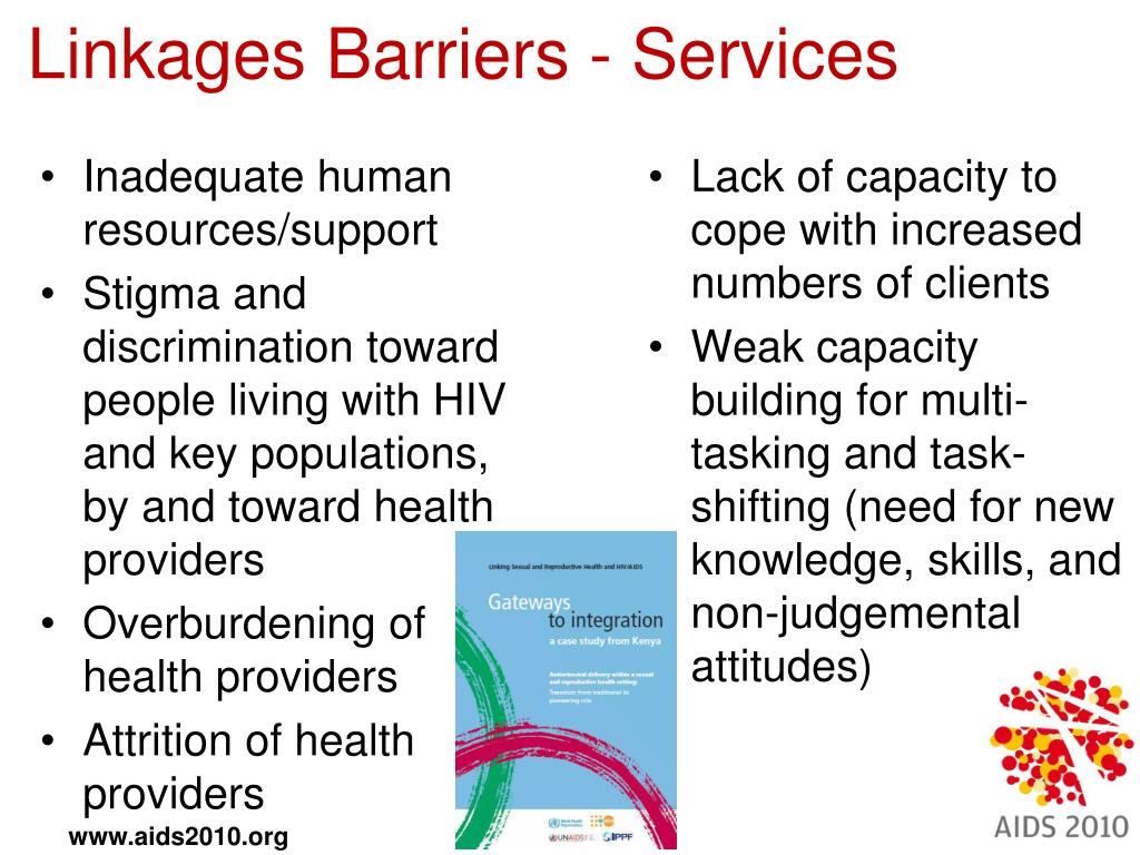 Linkages Barriers - Services