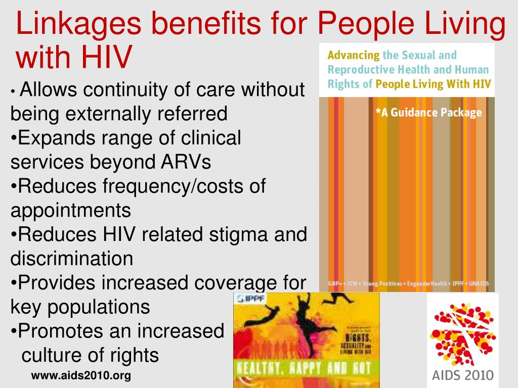 Linkages benefits for People Living with HIV