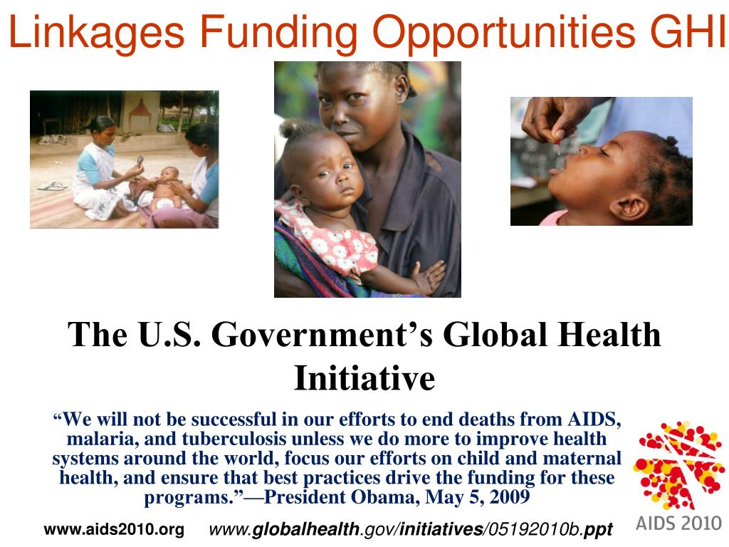 Linkages Funding Opportunities GHI