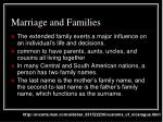 marriage and families
