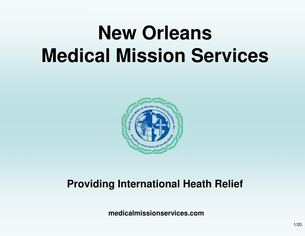 new orleans medical mission services l.