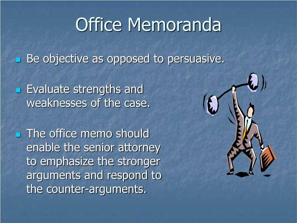 Office Memoranda