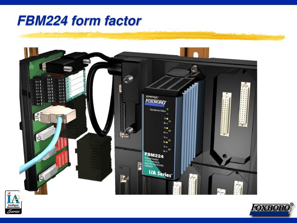 FBM224 form factor