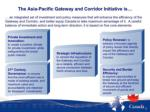 the asia pacific gateway and corridor initiative
