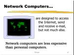 network computers