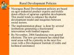 rural development policies