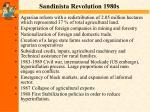 sandinista revolution 1980s