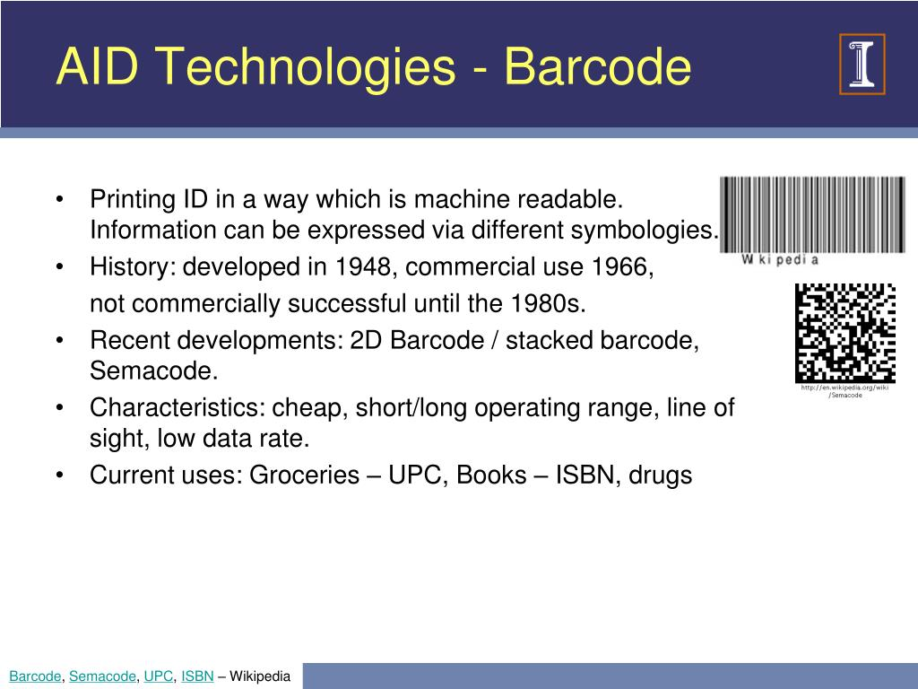 AID Technologies - Barcode