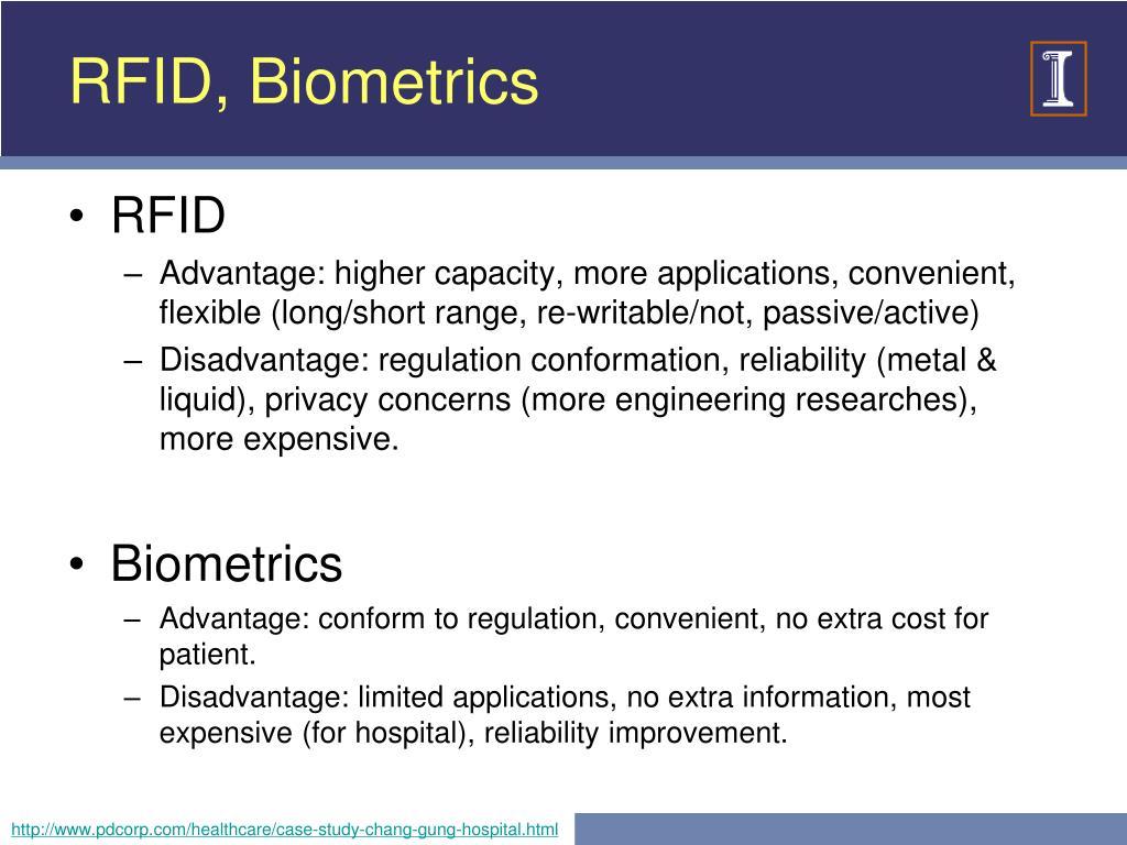 RFID, Biometrics