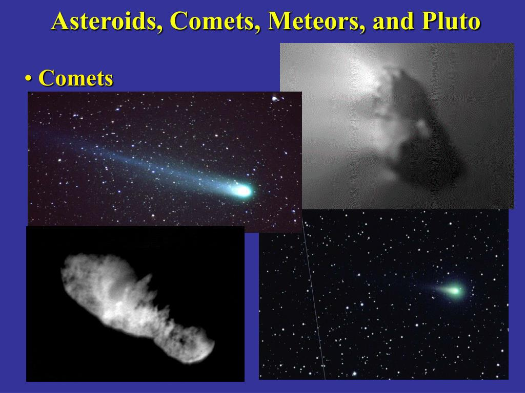 Asteroids, Comets, Meteors, and Pluto