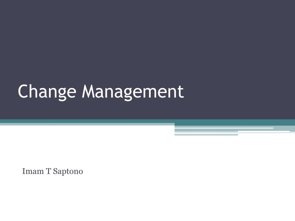 change management l.