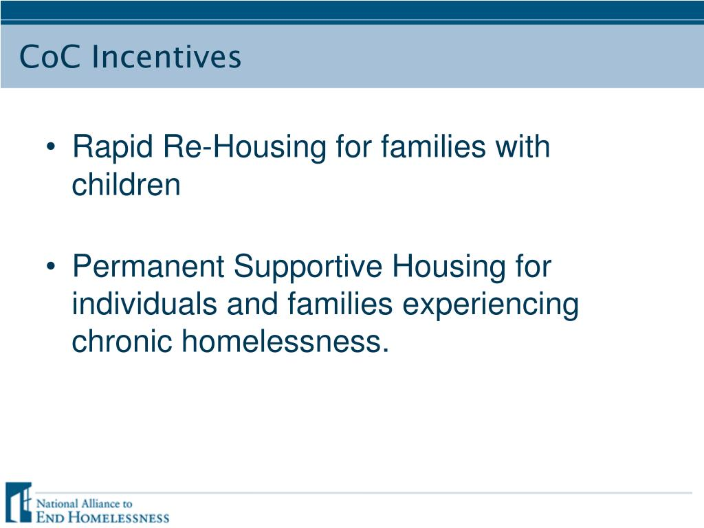 Rapid Re-Housing for families with children