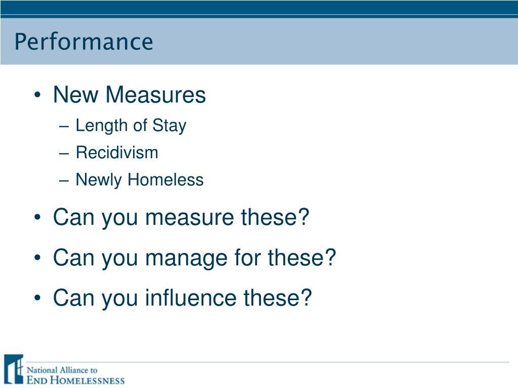 New Measures