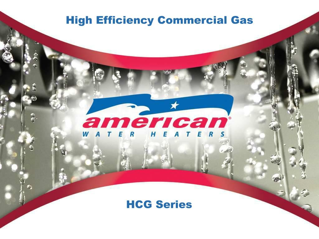 High Efficiency Commercial Gas