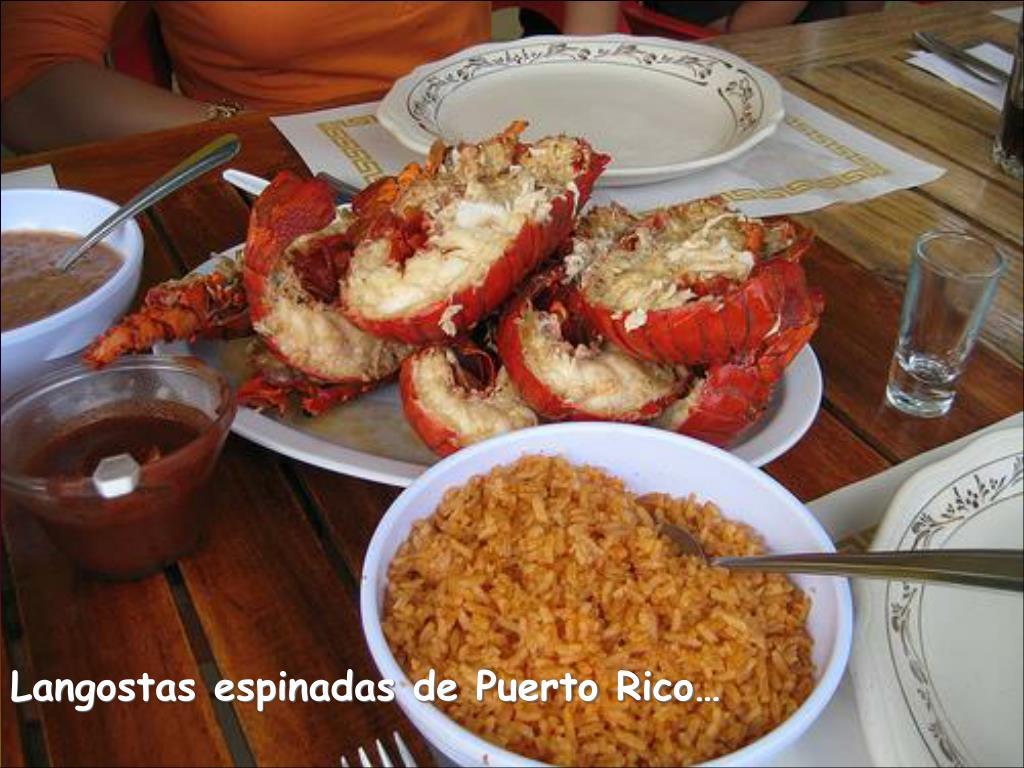Langostas espinadas de Puerto Rico…
