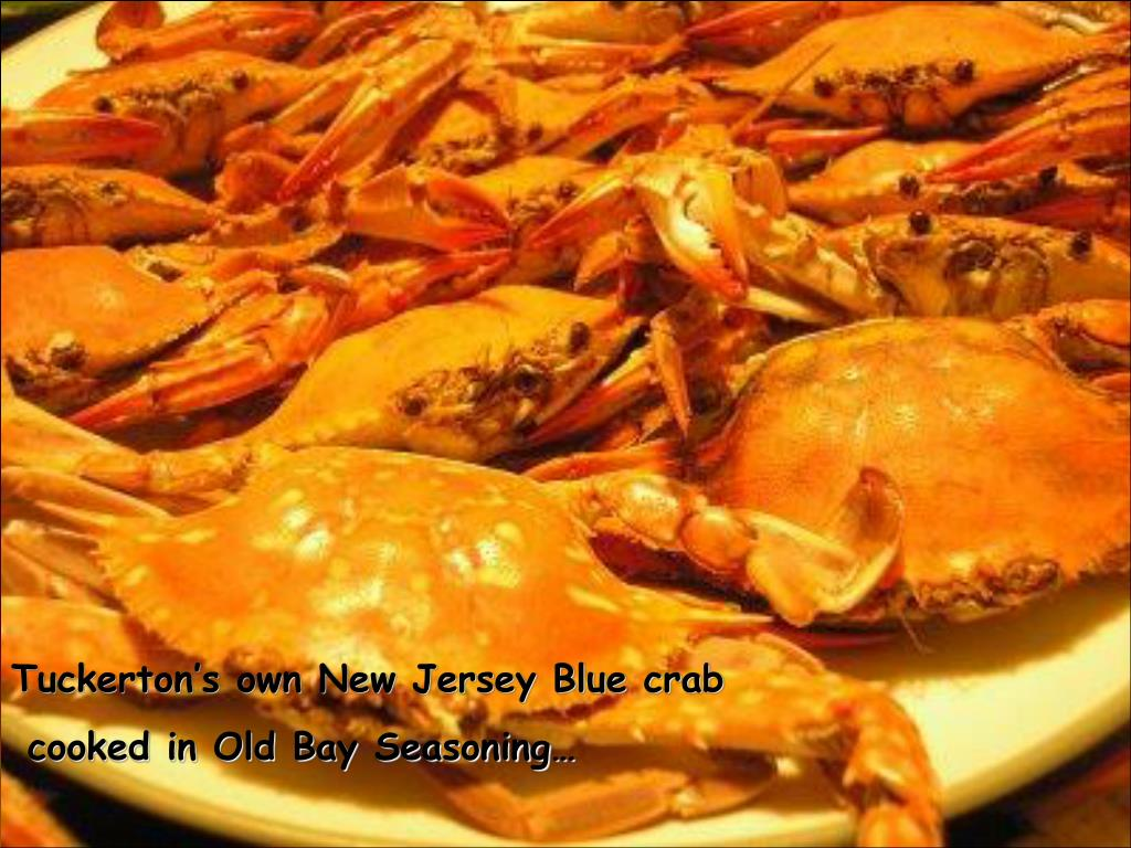 Tuckerton's own New Jersey Blue crab