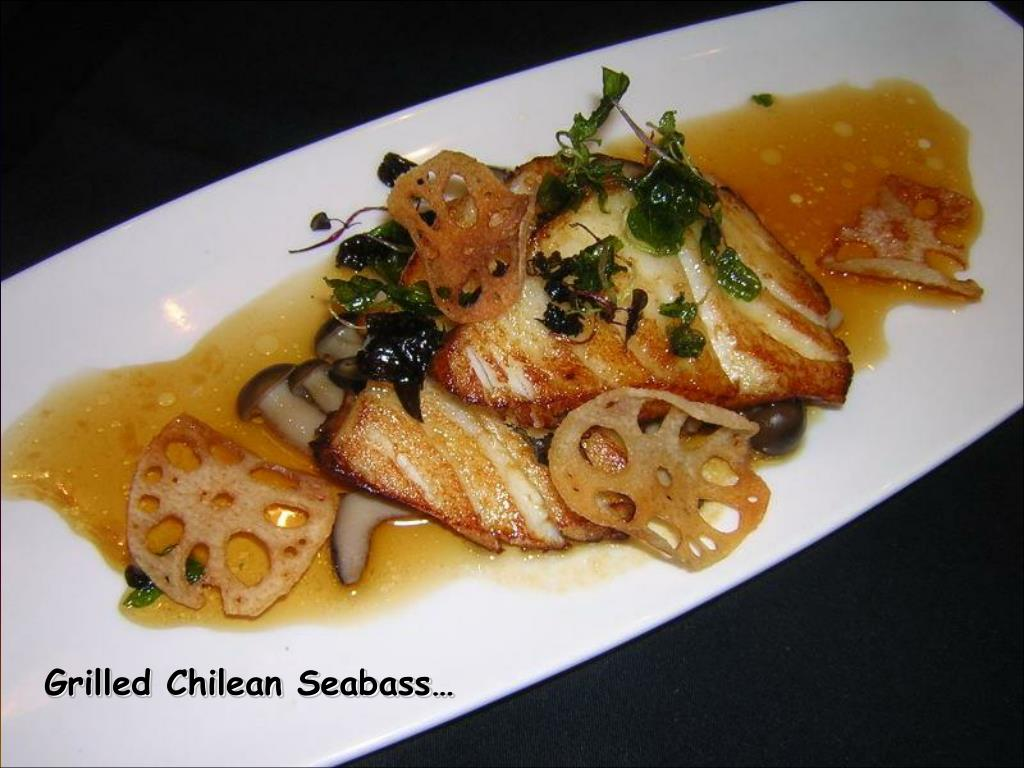 Grilled Chilean Seabass…