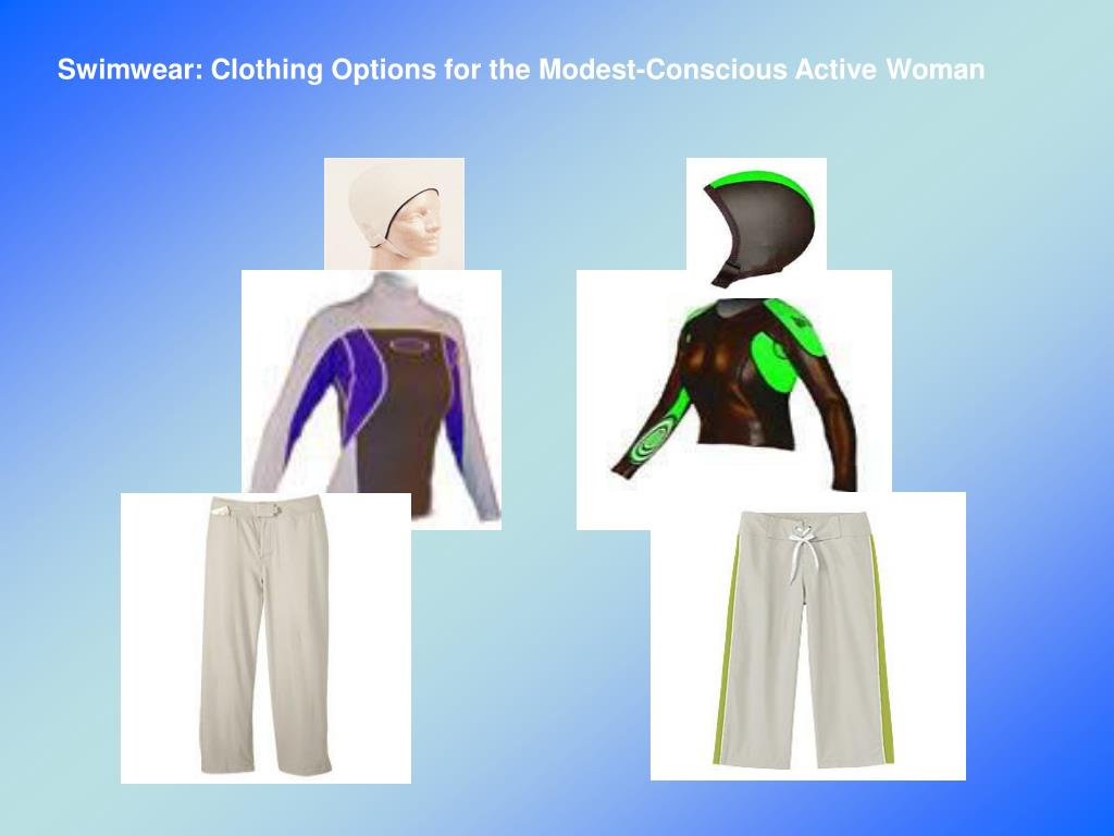 Swimwear: Clothing Options for the Modest-Conscious Active Woman