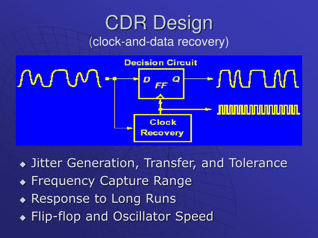 CDR Design