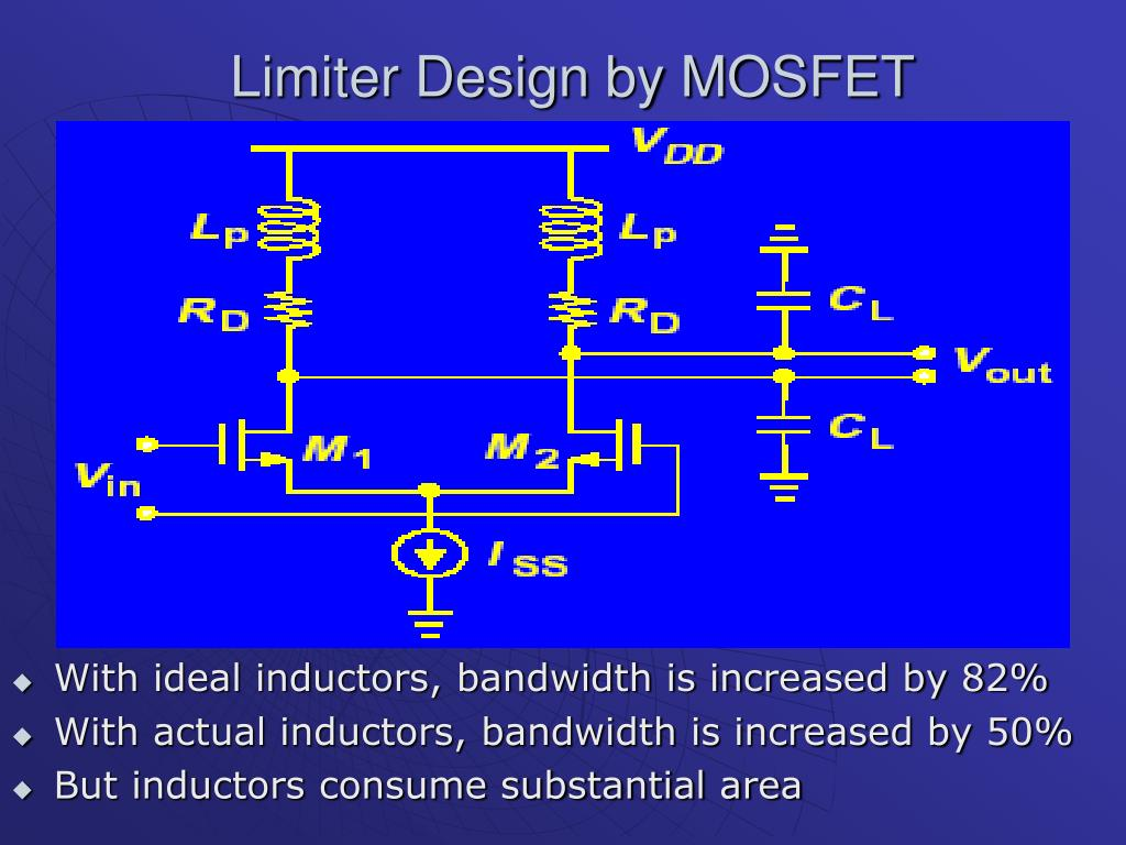 Limiter Design by MOSFET