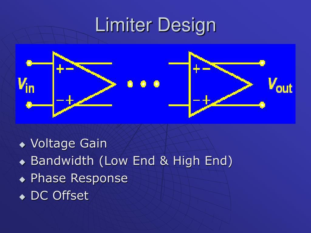 Limiter Design