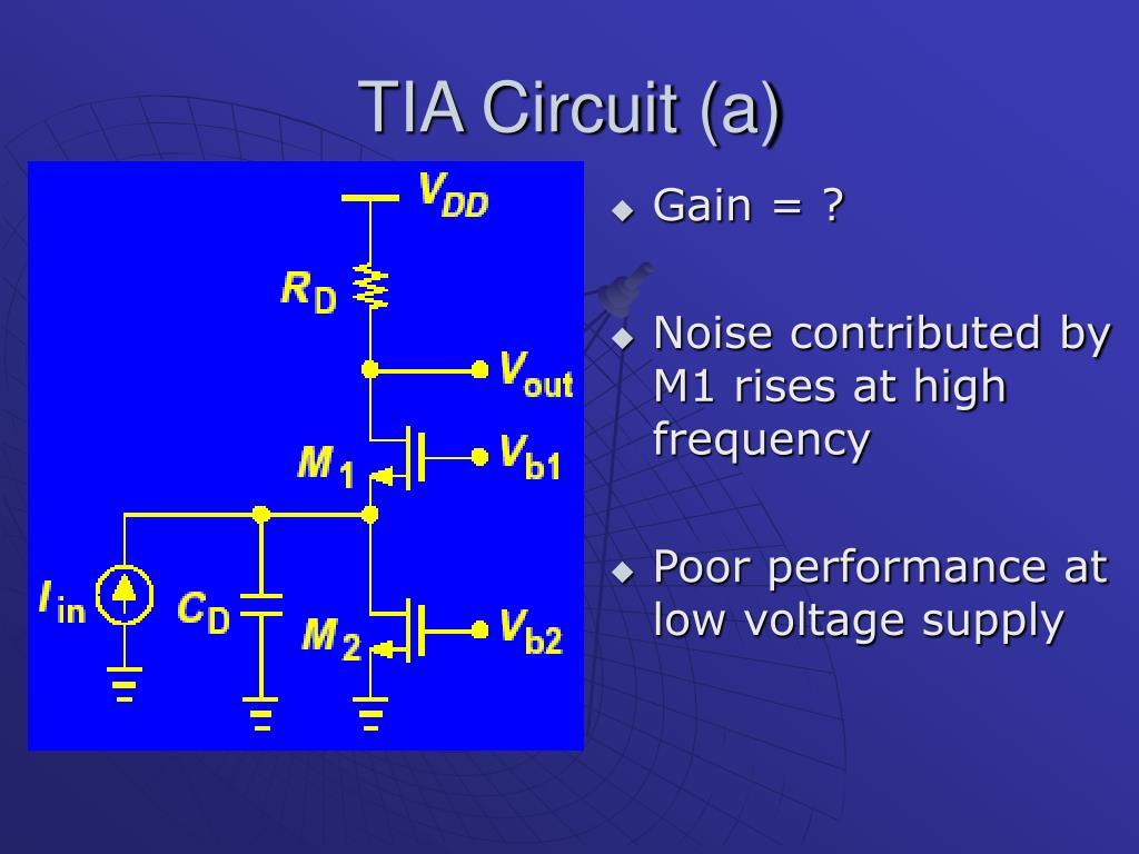 TIA Circuit (a)