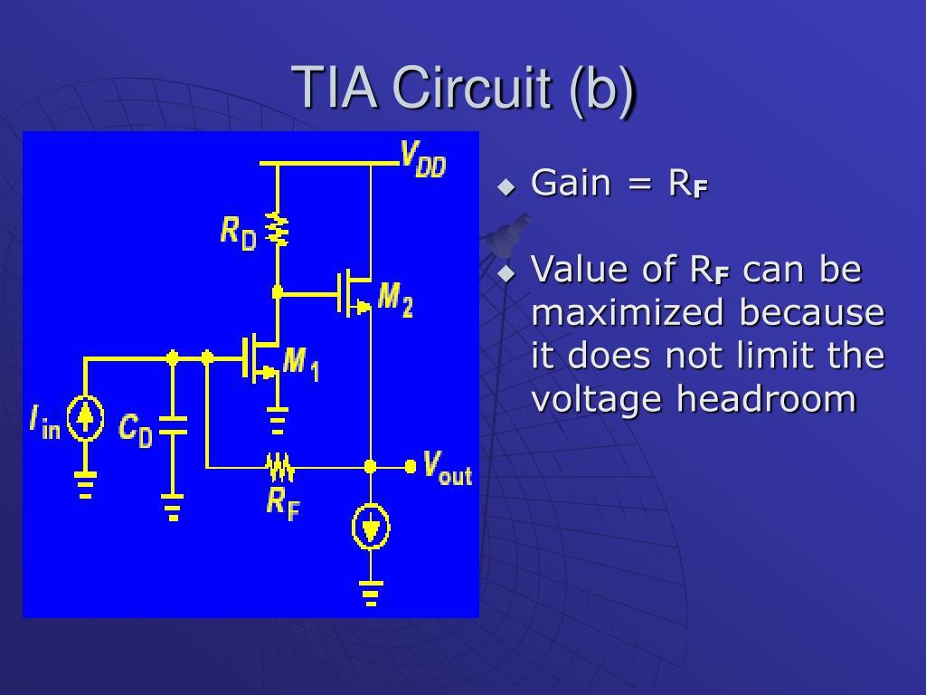 TIA Circuit (b)