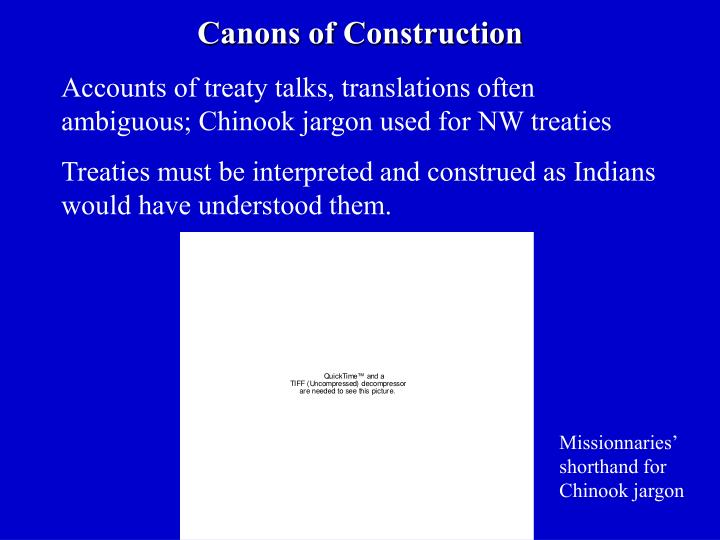 Canons of Construction
