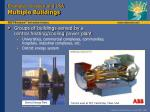 examples sweden and usa multiple buildings