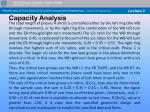 capacity analysis42
