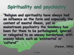 spirituality and psychiatry29