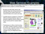 web services examples