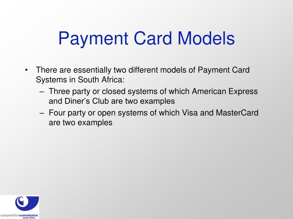 Payment Card Models