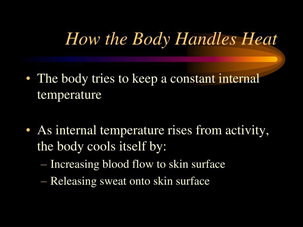 How the Body Handles Heat