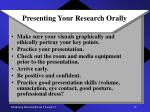 presenting your research orally12