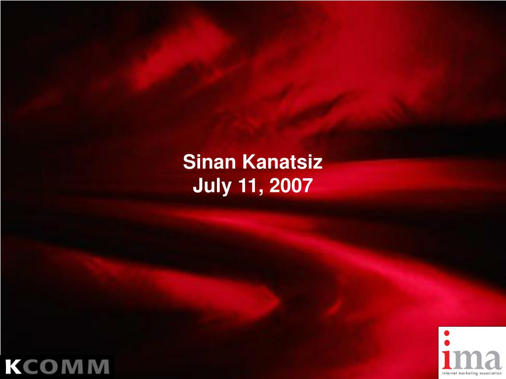 sinan kanatsiz july 11 2007 l.