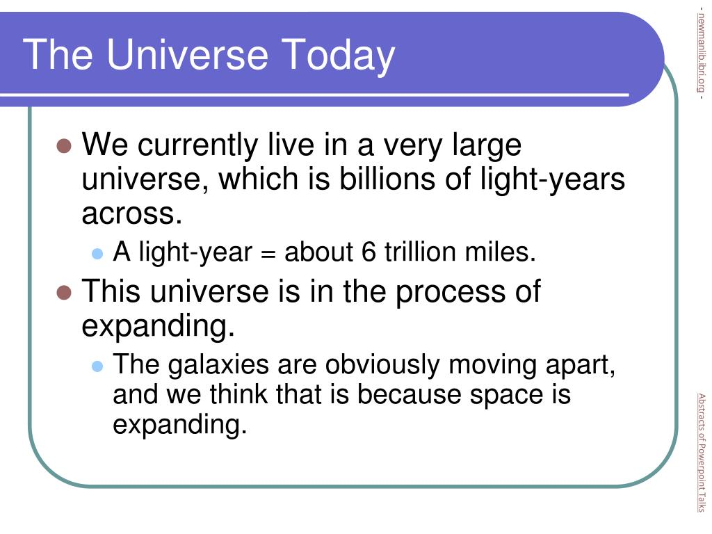 The Universe Today