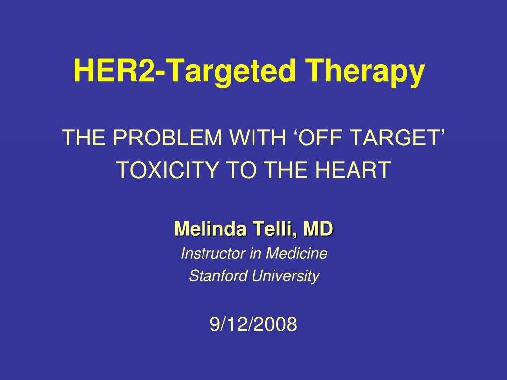 HER2-Targeted Therapy