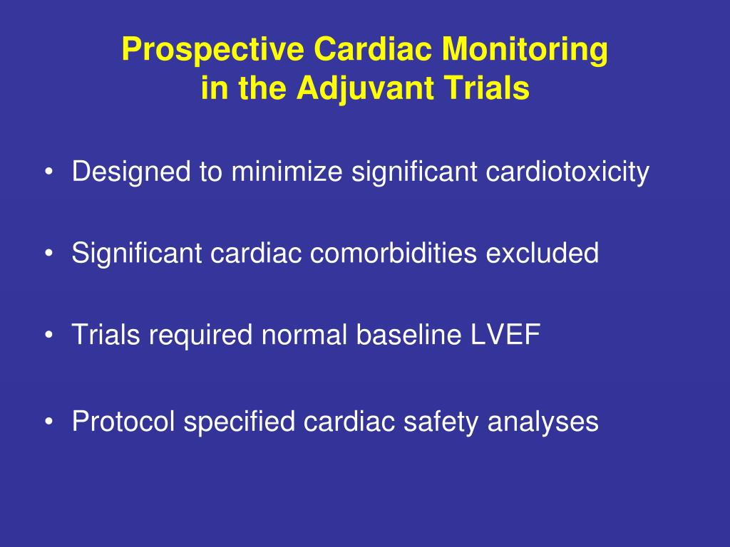 Prospective Cardiac Monitoring