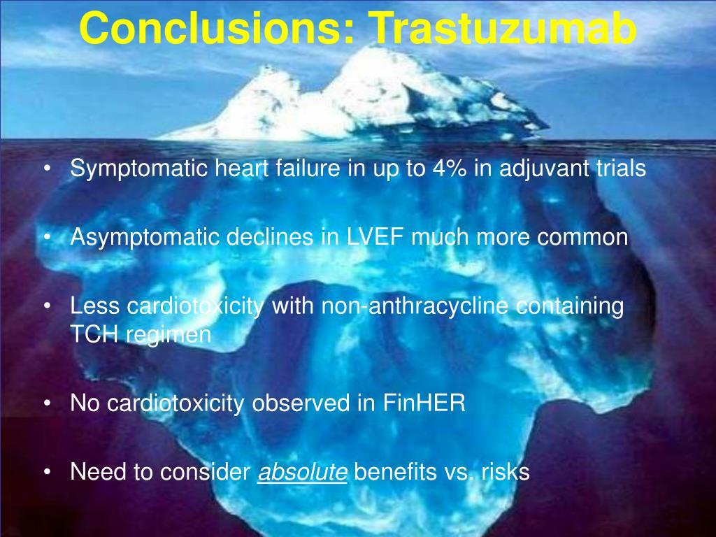 Conclusions: Trastuzumab