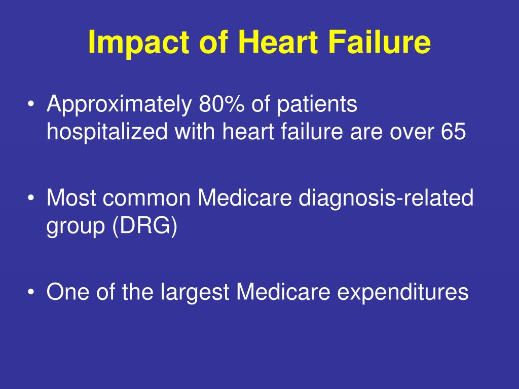 Impact of Heart Failure