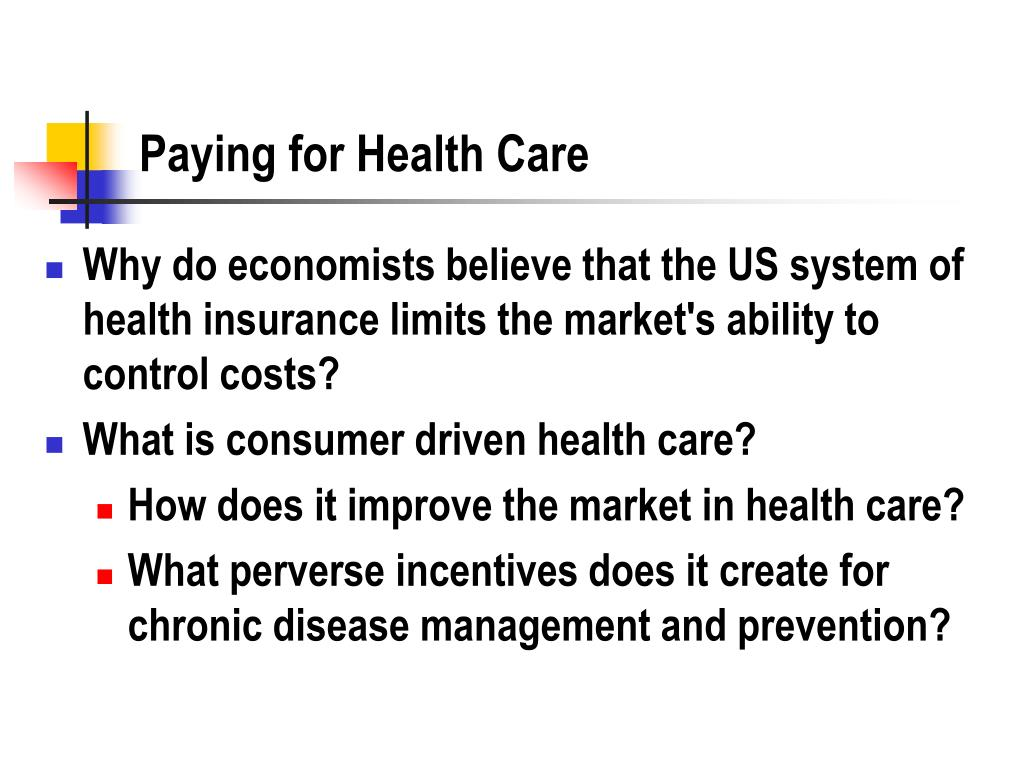 Paying for Health Care