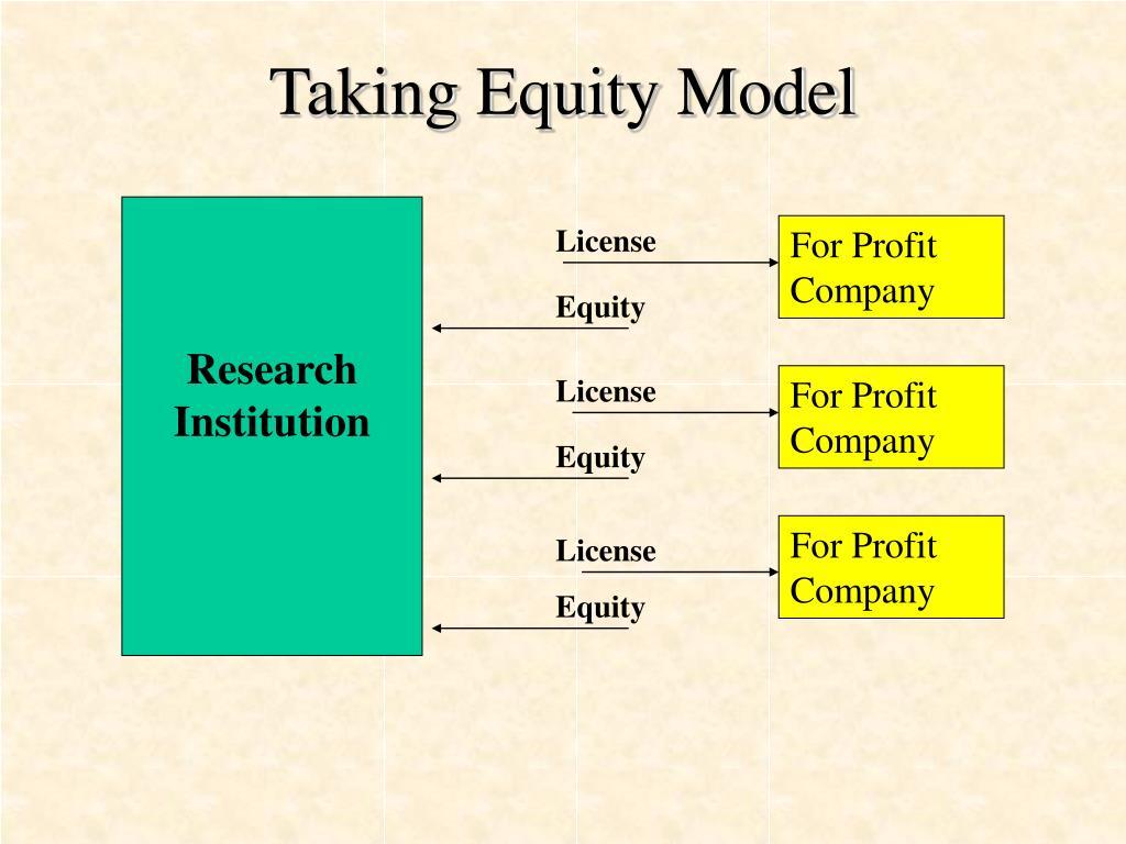 Taking Equity Model