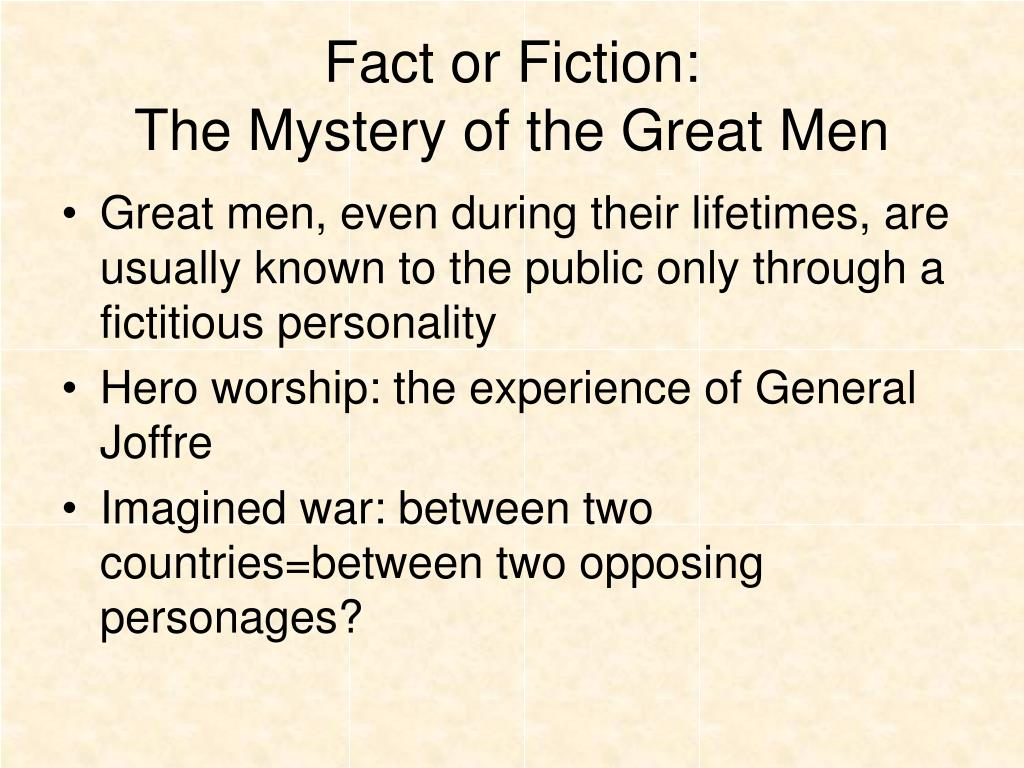 Fact or Fiction: