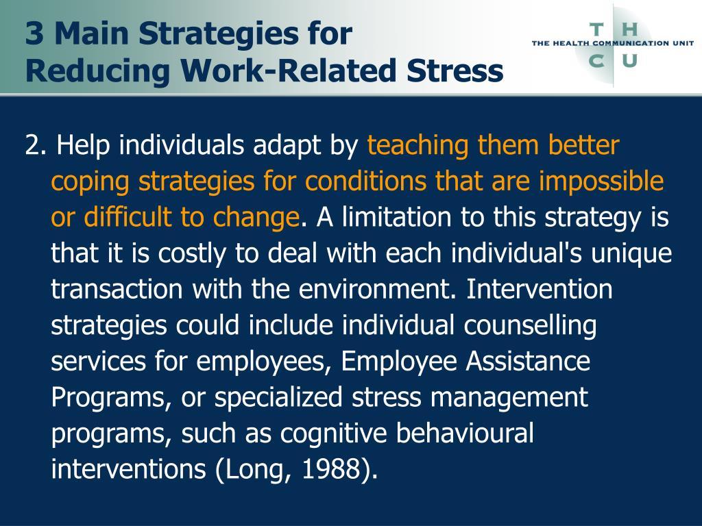 3 Main Strategies for