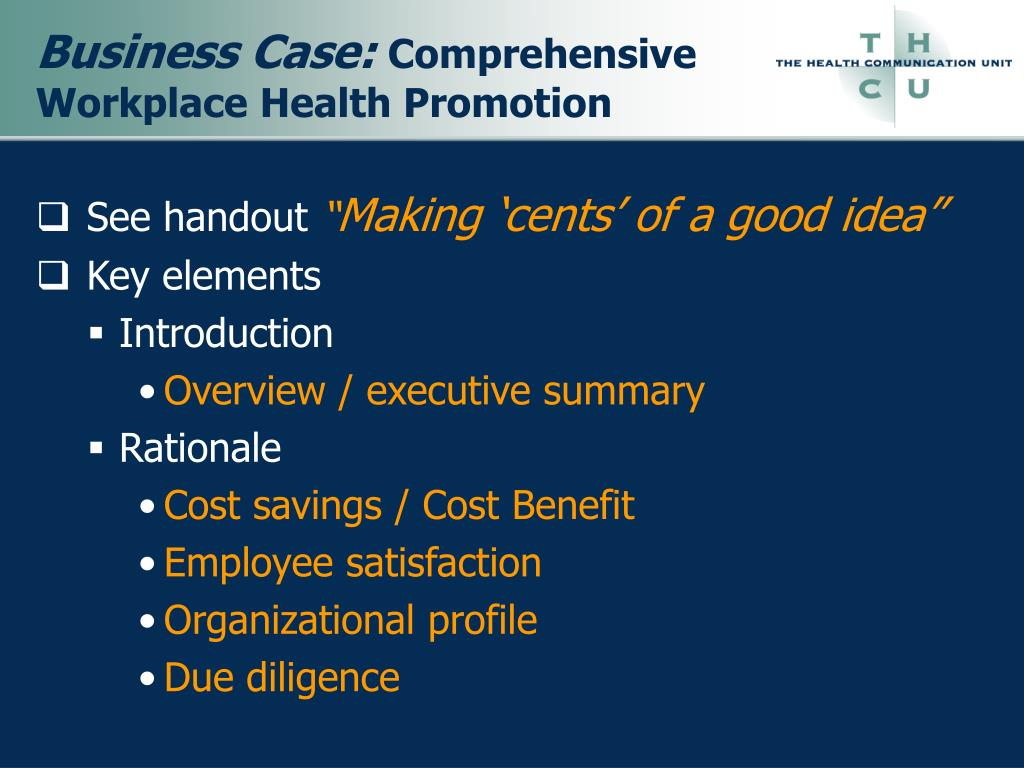 Business Case:
